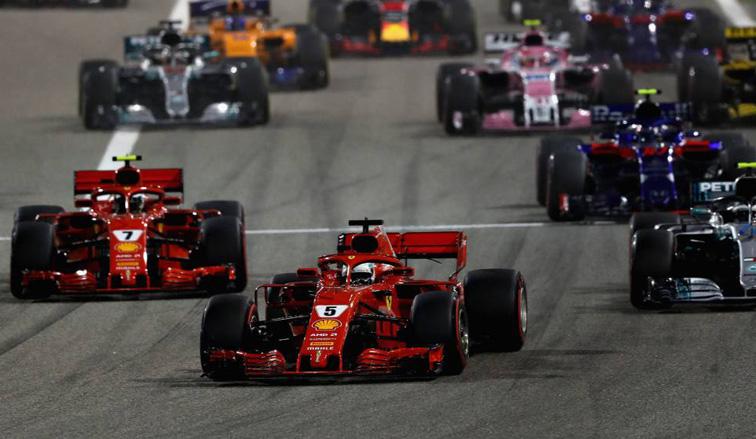 Fórmula 1: Vettel gana en Bahréin, Alonso termina 7º
