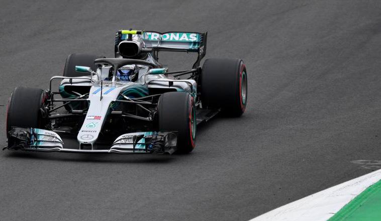 Fórmula 1: Bottas le gana la pulseada a Ferrari en el 2º dia de test