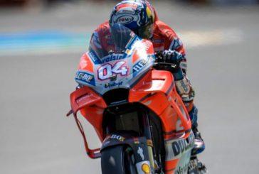 MotoGP: Dovizioso celebra su renovación con el récord del circuito