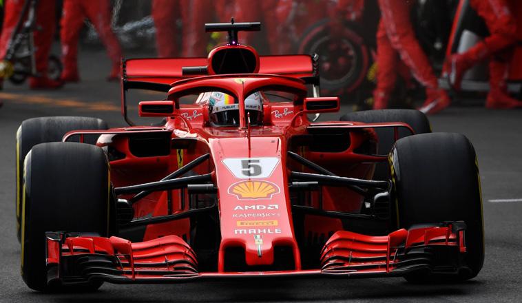 """Fórmula 1: Ferrari estrena el retrovisor incorporado en el """"halo"""""""