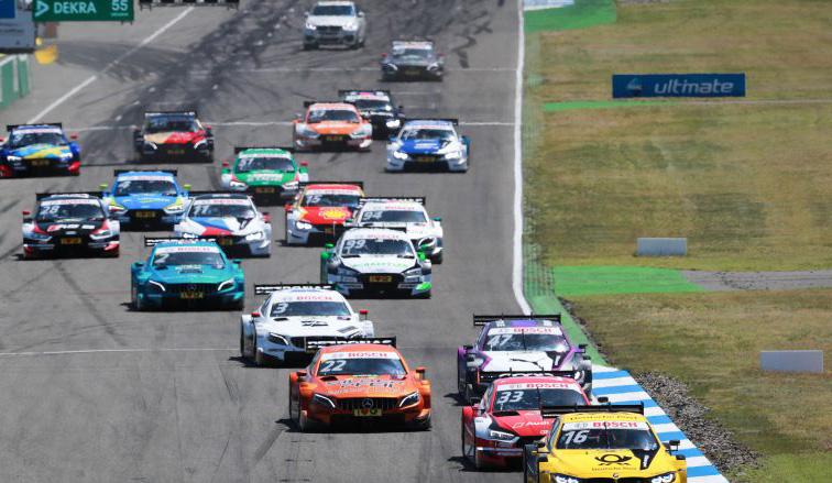 DTM: Timo Glock gana en una apretada carrera