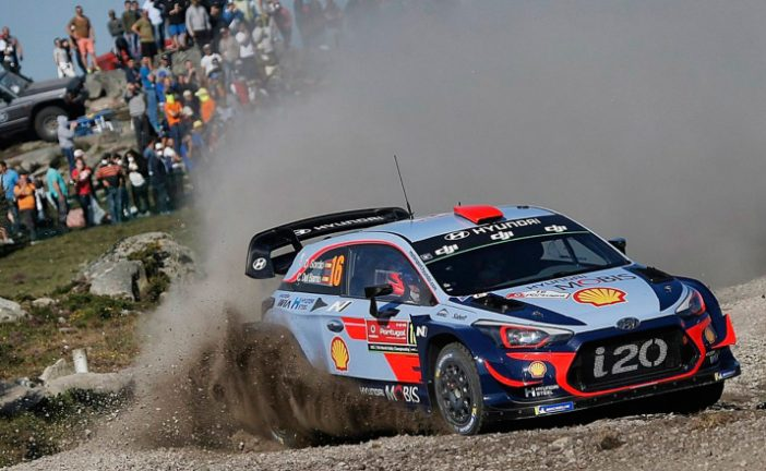 WRC: Dani Sordo marca el ritmo en Portugal