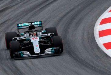Fórmula 1: Hamilton comenzó bien arriba
