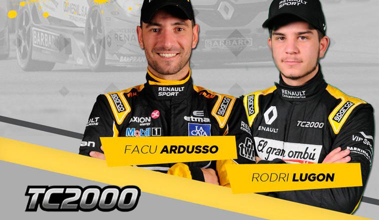 TC2000: Lugón llega muy motivado por correr con Ardusso