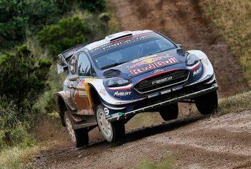 WRC: Sebastien Ogier se pone al mando en Cerdeña