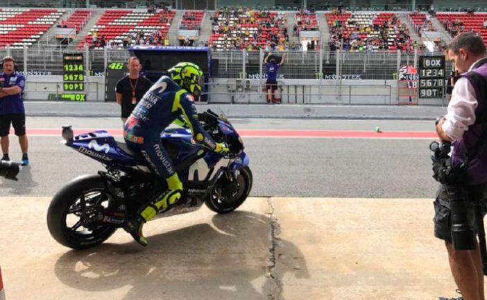 MotoGP: Rossi avisa en los Libres1