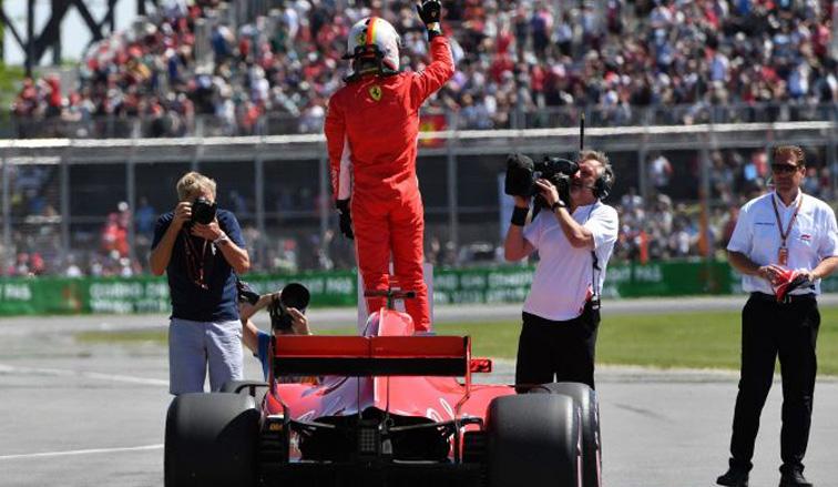 Fórmula 1: Vettel dominó en Canadá