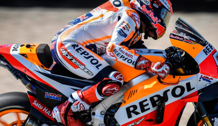 MotoGP: Márquez el más veloz en los Libres1