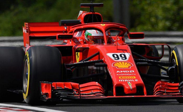 Fórmula 1: Primer día de test en Hungría