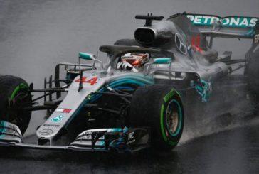 Fórmula 1: Vibrante pole de Hamilton bajo la lluvia de Hungaroring