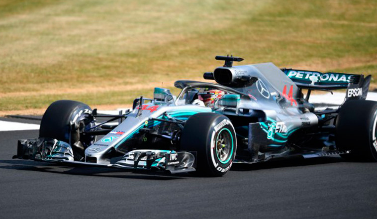 Fórmula 1: Hamilton se hace fuerte de local