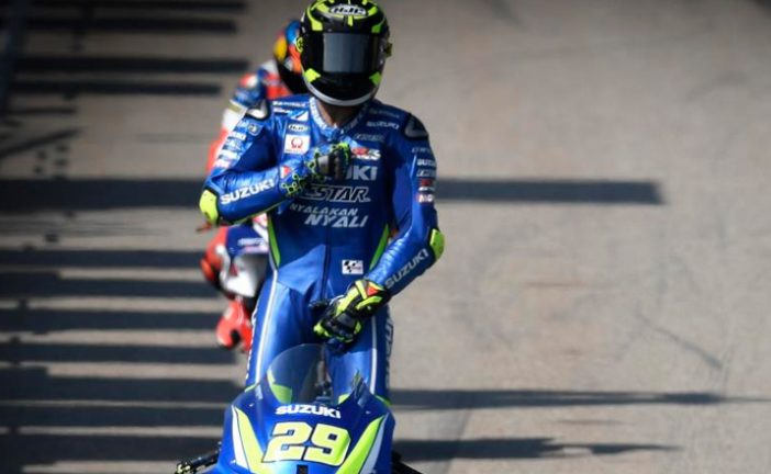 MotoGP: Iannone sorprende a Márquez en la FP1