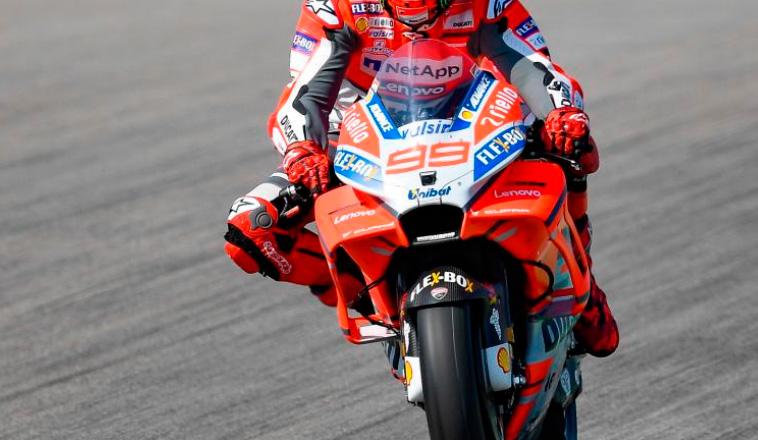 MotoGP: Lorenzo se llevó los Libres2