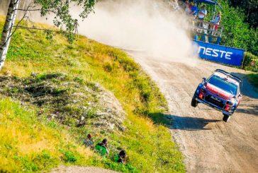 WRC: Østberg domina en Finlandia