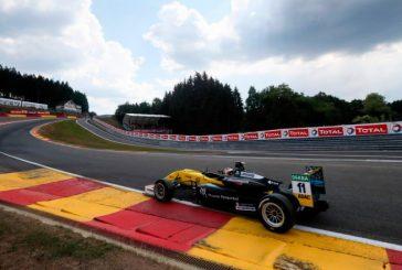 F3 Europea: Fenestraz completó el día de carreras en Spa