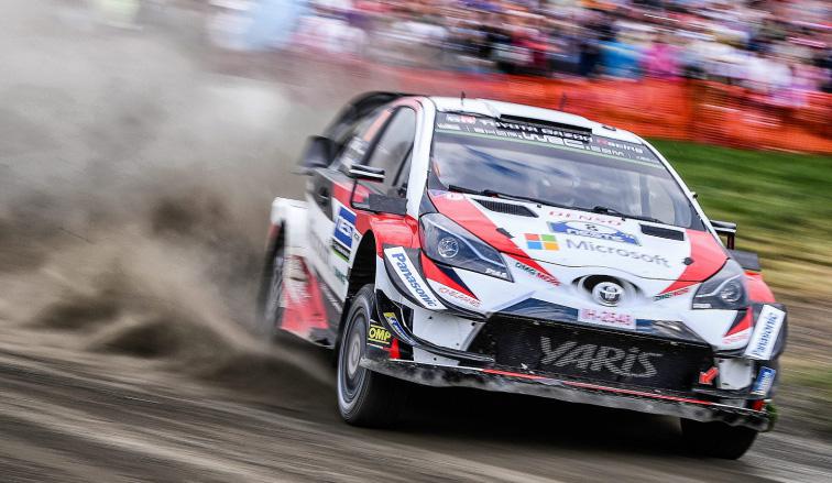 WRC: Tänak hace la diferencia en el sábado de Finlandia