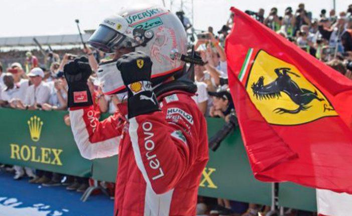 Fórmula 1: Vettel conquista el territorio de Hamilton