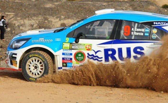 """Rally Argentino: Cancio mordió """"La Manzana"""""""