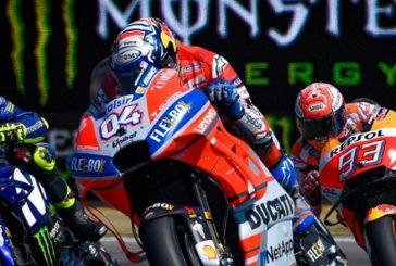MotoGP: Ajustada pole de Dovizioso