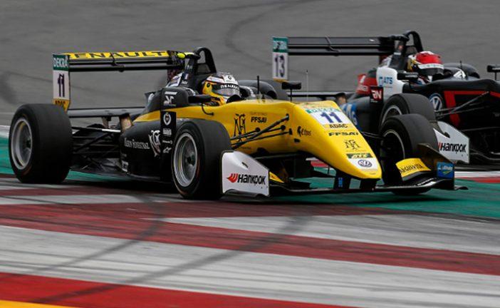 F3 Europea: Fenestraz terminó su participación en Misano