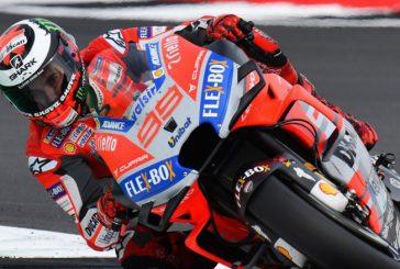 MotoGP: Lorenzo hizo pole bajo la lluvia