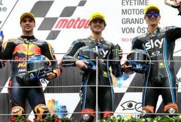 MotoGP: Bezzecchi en Moto3 y Bagnaia en Moto2