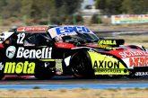 TC: Spataro, Angelini y Ortelli en los entrenamientos