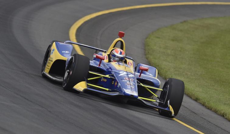 Indy Car: Exhibición aplastante de Rossi en Pocono