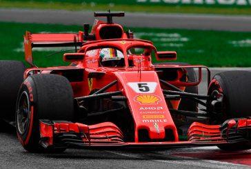 Fórmula 1: Vettel encabeza el dominio de Ferrari en los Libres2