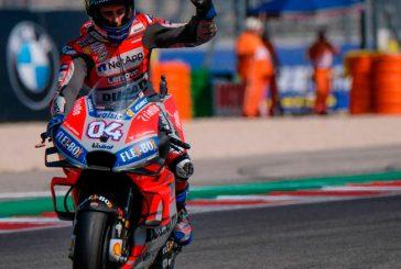 MotoGP: Un intratable Andrea Dovizioso gana con la Ducati en Misano