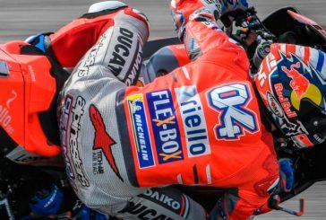 MotoGP: Dovizioso lidera; Márquez y Rossi sufren