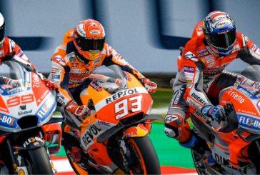 MotoGP: Las Ducati dominaron el viernes en Misano