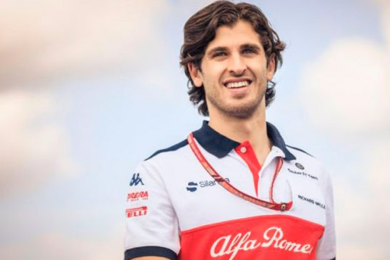 Fórmula 1: Antonio Giovinazzi acompañará a Kimi Raikkonen en Sauber