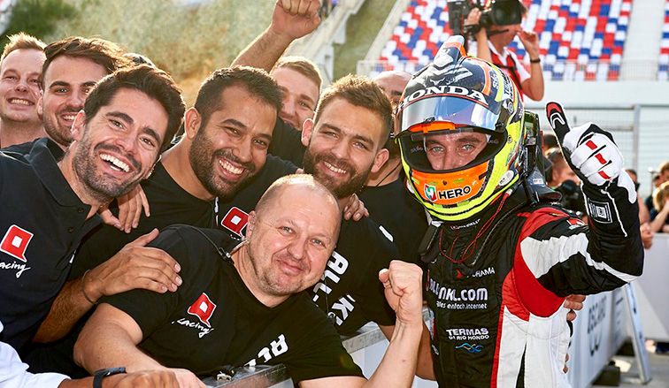 WTCR: Guerrieri sube al podio en China