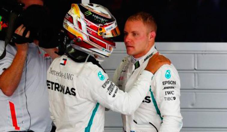Fórmula 1: Hamilton gana con ayuda de Bottas