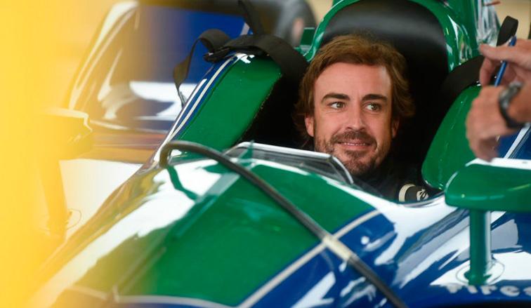 Indy Car: Alonso probó en Alabama