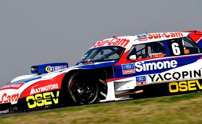 TC: Rossi, Angelini y Lambiris en punta