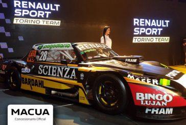 TC: Macua te invita a ser parte de Renault Sport Torino Team