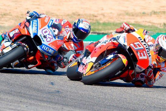 MotoGP: Márquez vence en Aragón y acaricia el título