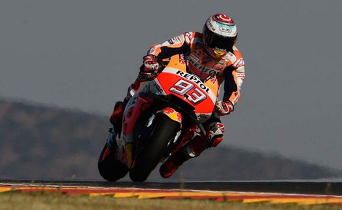 MotoGP: Márquez dominó el viernes