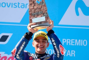 MotoGP: Martín en Moto3 y Binder en Moto2, ganan en Aragón