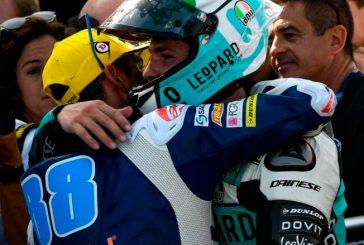 MotoGP: Bagnaia gana en Moto2 y Dalla Porta en Moto3