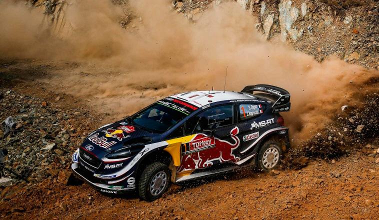 WRC: Ogier al ataque