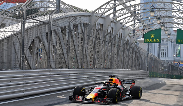 Fórmula 1: Red Bull se suma a la fiesta en Singapur