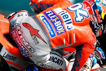 MotoGP: Dovizioso lidera los Libres2 con 10 pilotos… ¡en 0.331 segundos!