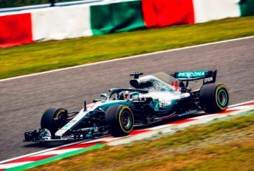 Fórmula 1: Mercedes pega primero en Suzuka