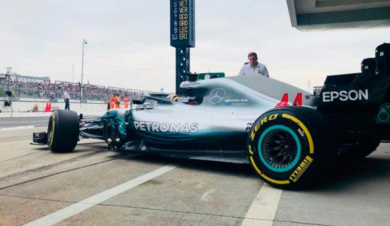 Fórmula 1: Hamilton domina a placer los Libres 2