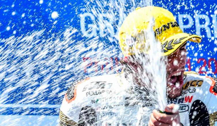 MotoGP: El triunfo fue para Arenas en Moto3 y Binder en Moto2