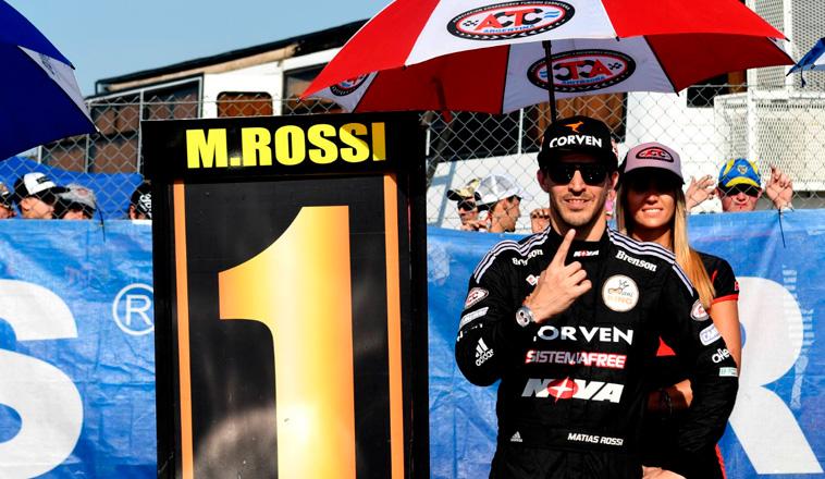 TC: Rossi es el Nº1 en Toay