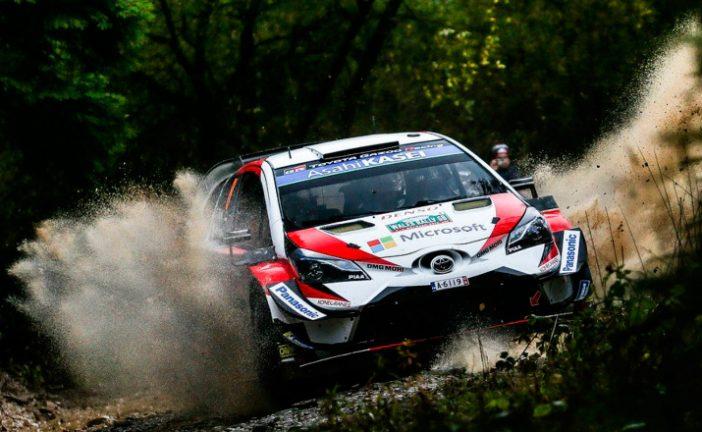 WRC: Tänak lidera, Neuville resiste y Ogier sobrevive en Gales